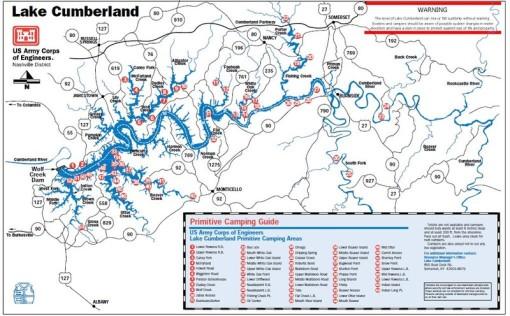 lake cumberland map of marinas Lake Cumberland Raft Up Directions lake cumberland map of marinas